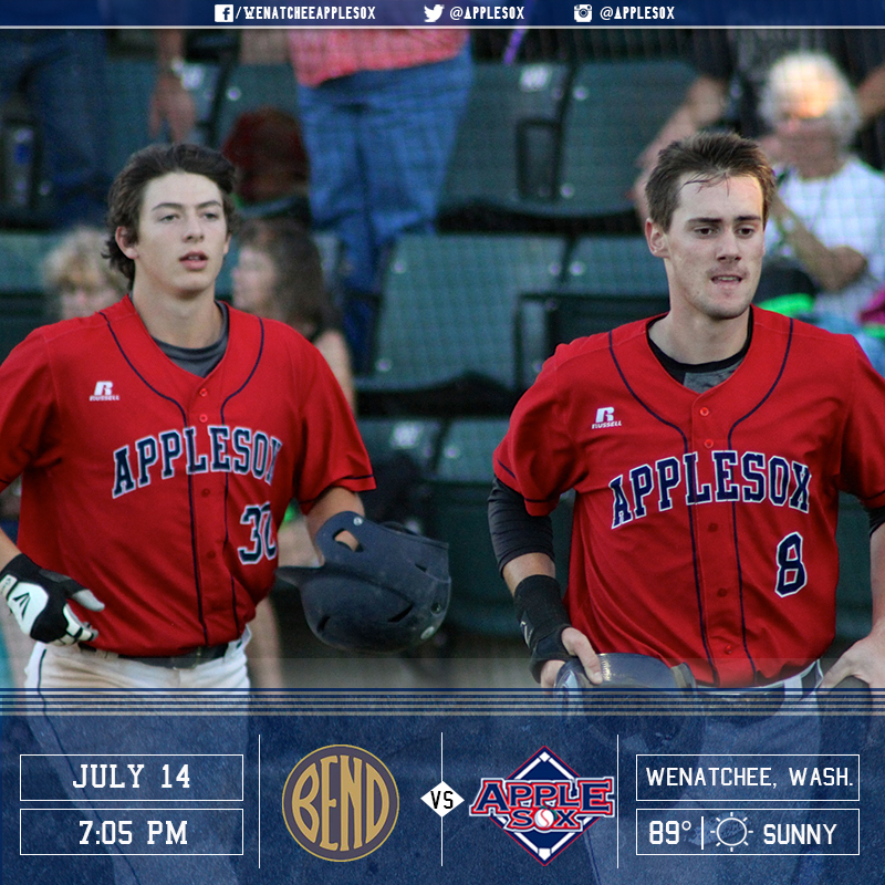 The AppleSox are looking to end a six-game homestand on a positive note with a win, Thursday night.