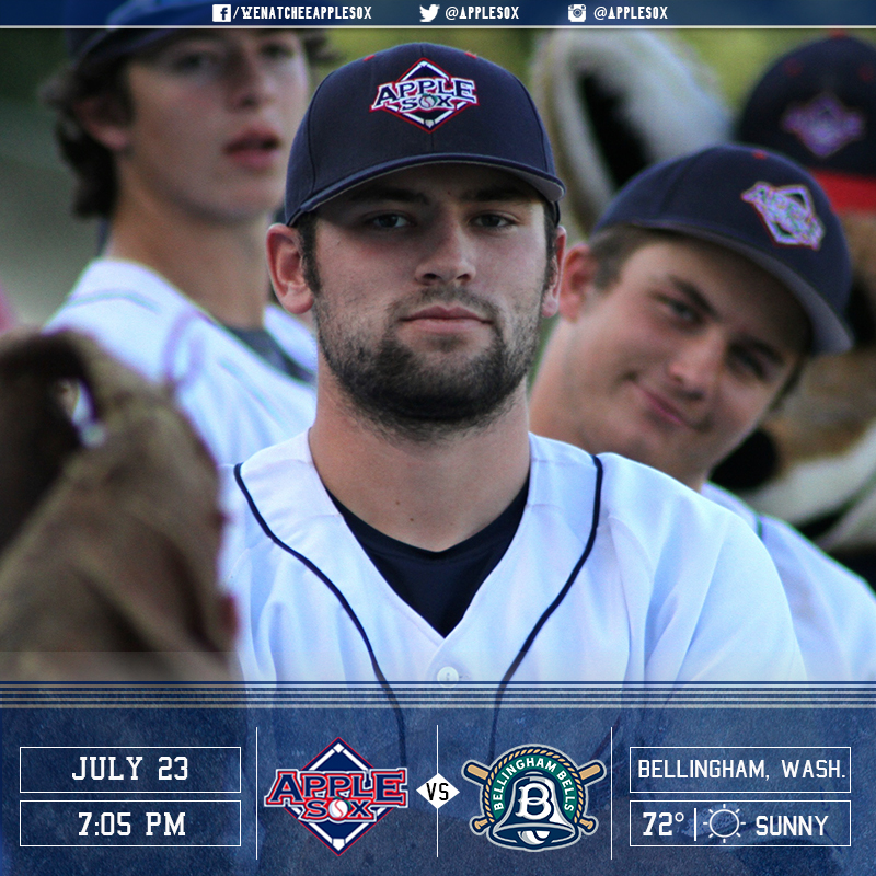 The AppleSox have game faces on and are in Bellingham for game one against the Bells, Saturday.