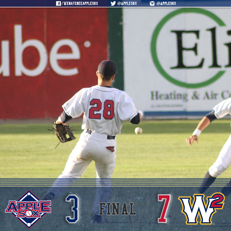 The Sweets and AppleSox tied on their 2016 season series 3-3.