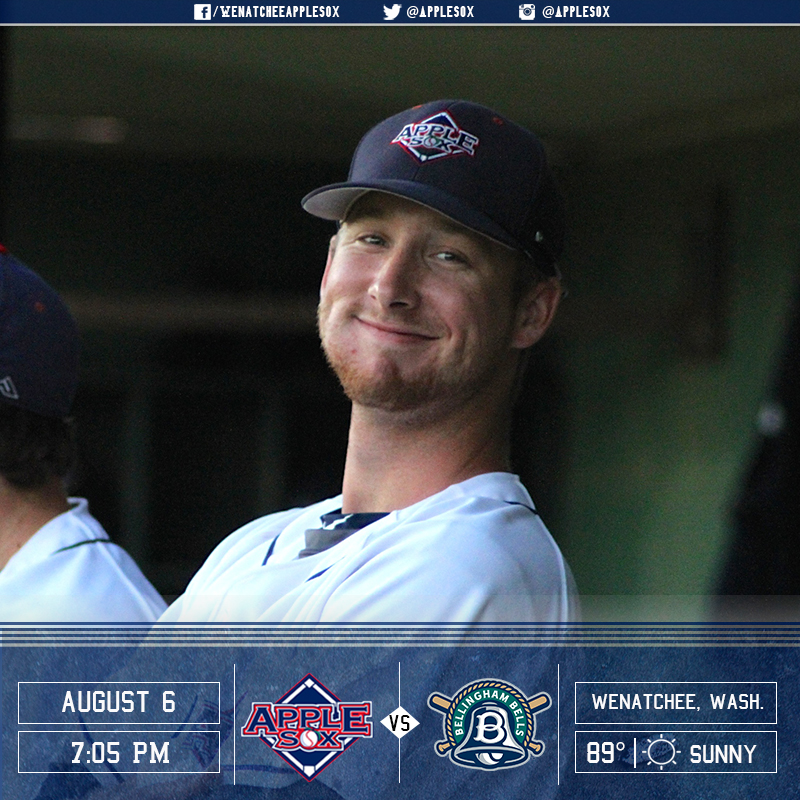 The AppleSox and the Bellingham Bells square off Saturday night at 7:05 p.m.