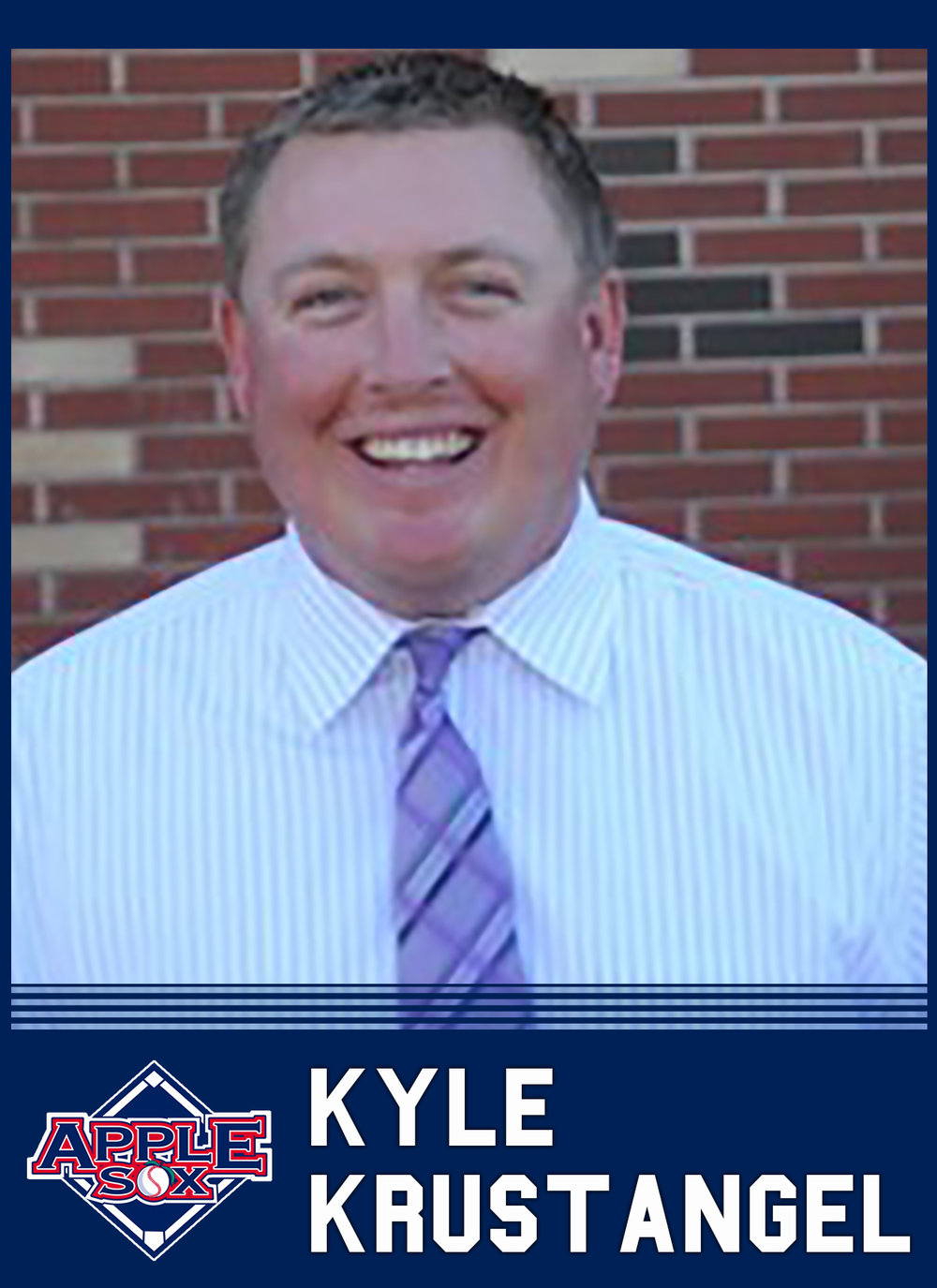 Current Yakima Valley Community College baseball coach Kyle Krustangel, will be the fourth coach of the AppleSox, the team announced, Wednesday.