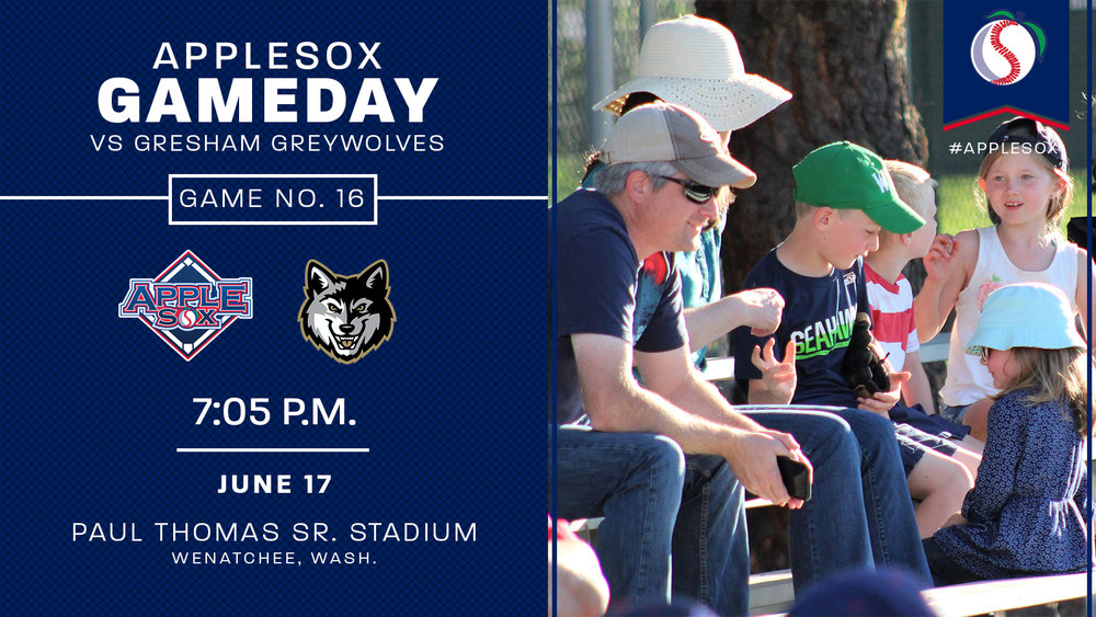 Bring the whole family out to Paul Thomas to see the AppleSox play at 7:05 Saturday, 6:05 Sunday, and 7:05 Monday against Gresham!