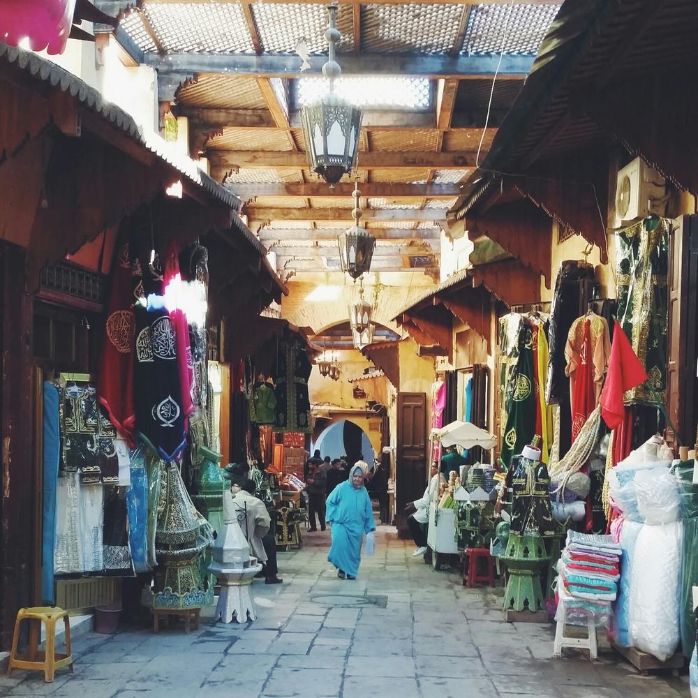 medina wandering