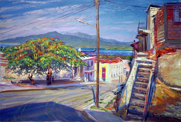 The Framboyan Tree, Tivoli, Santiago de Cuba
