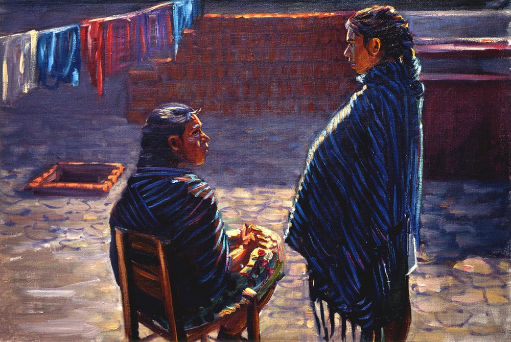 The Conversation, Ihautzio, Michoacan