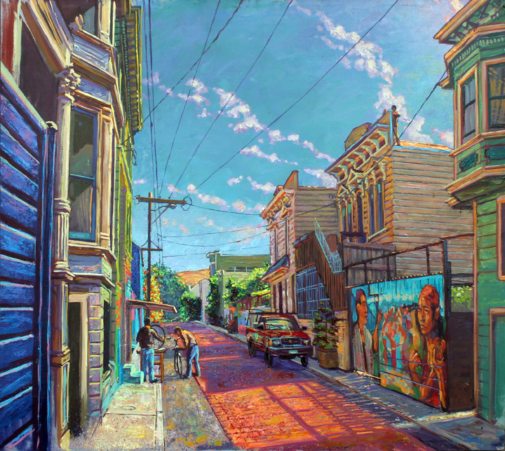 Balmy Alley On The Red Road Anthony Holdsworth