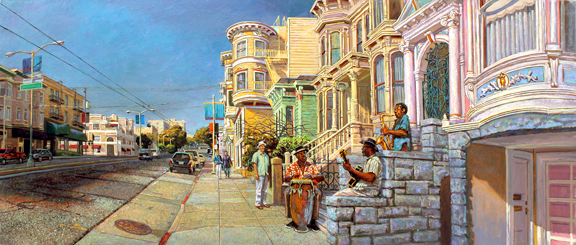 Kaiser Permanente Series: Jazz Musicians on Divisadero