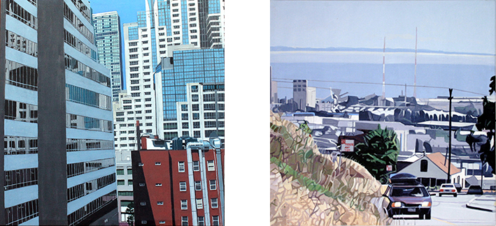 Beryl Landau shows recent paintings of San Francisco
