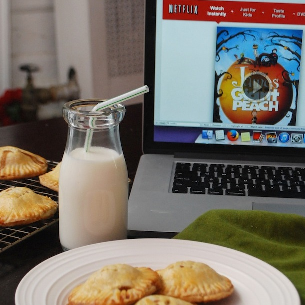 CLIENT: NETFLIX Assets: Recipe development, sponsored blog posts, social media campaign Project: Netflix hired me for an 8-month campaign designed to promoted their family-friendly streaming options. Each month, they'd release a themed playlist of movies and TV shows, and have me create a recipe inspired by the theme or one of the films on the list. (For example, I developed a recipe for Mini Peach Hand Pies to go along with the animated film James and the Giant Peach.) CLICK TO VIEW