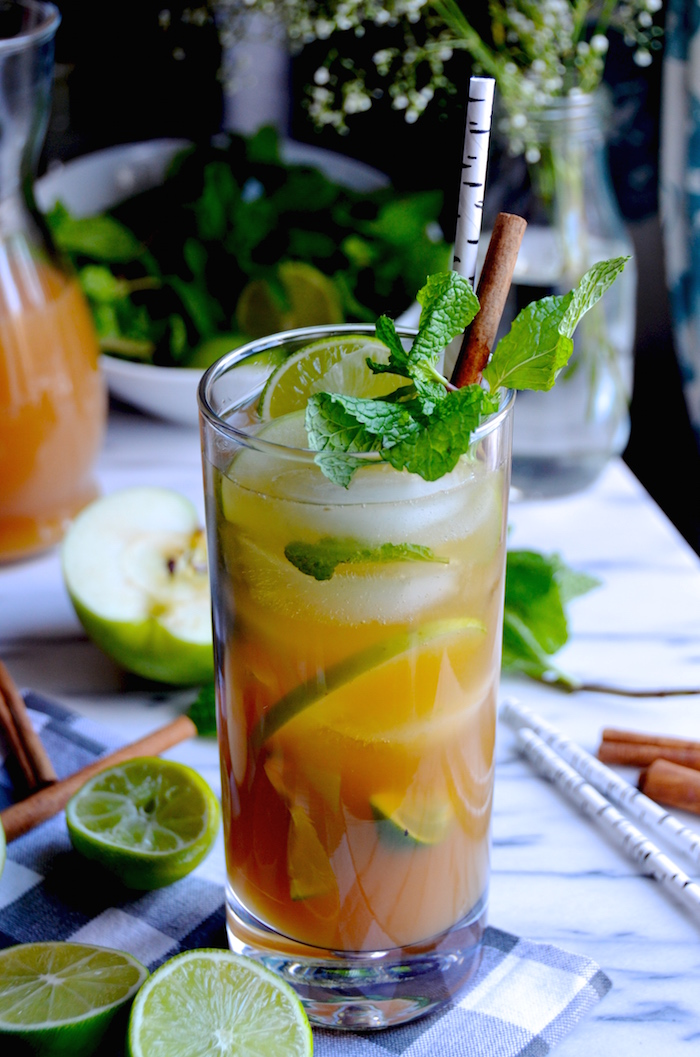 Apple Cider Mojitos