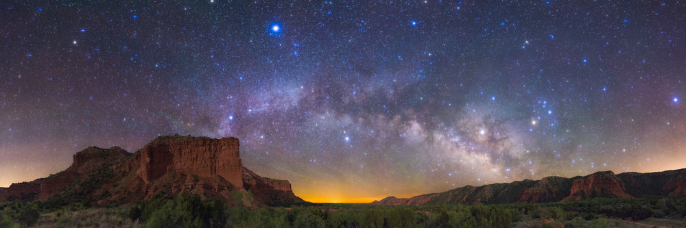Star Bridge to Caprock Canyons in Texas by JT Blenker