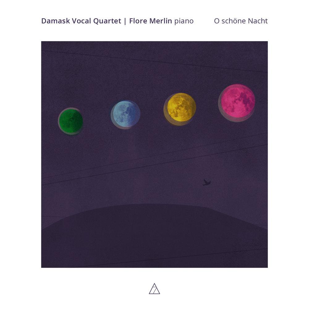 Damask Vocal Quartet - O schöne Nacht - cover highres 7mntn014.jpg