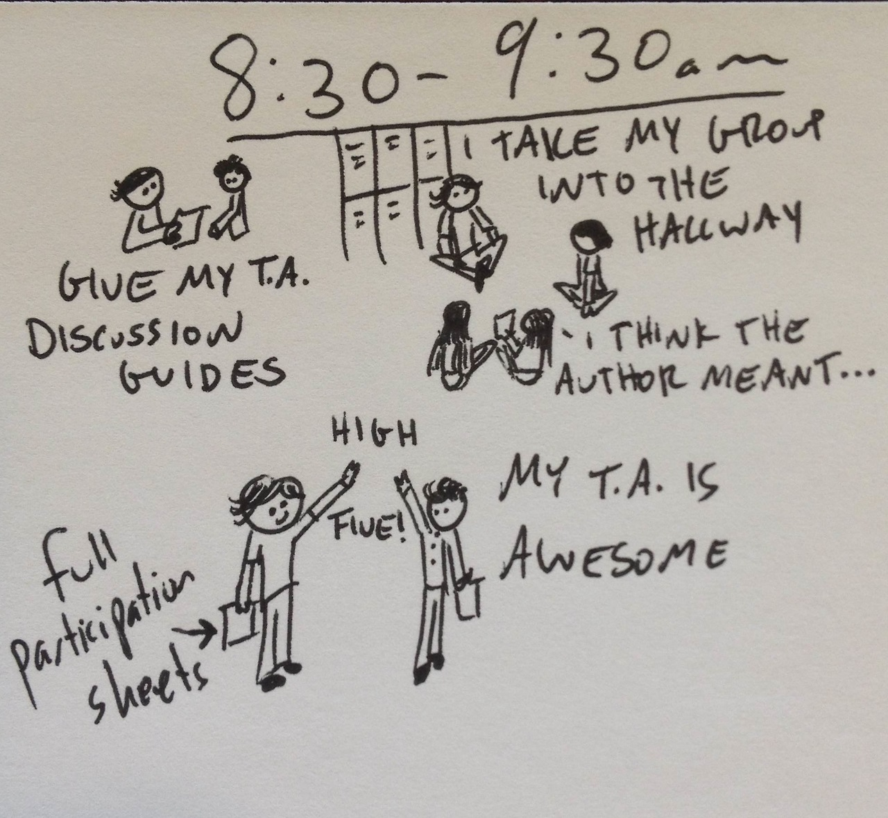 Hourly comics from yesterday, part 3