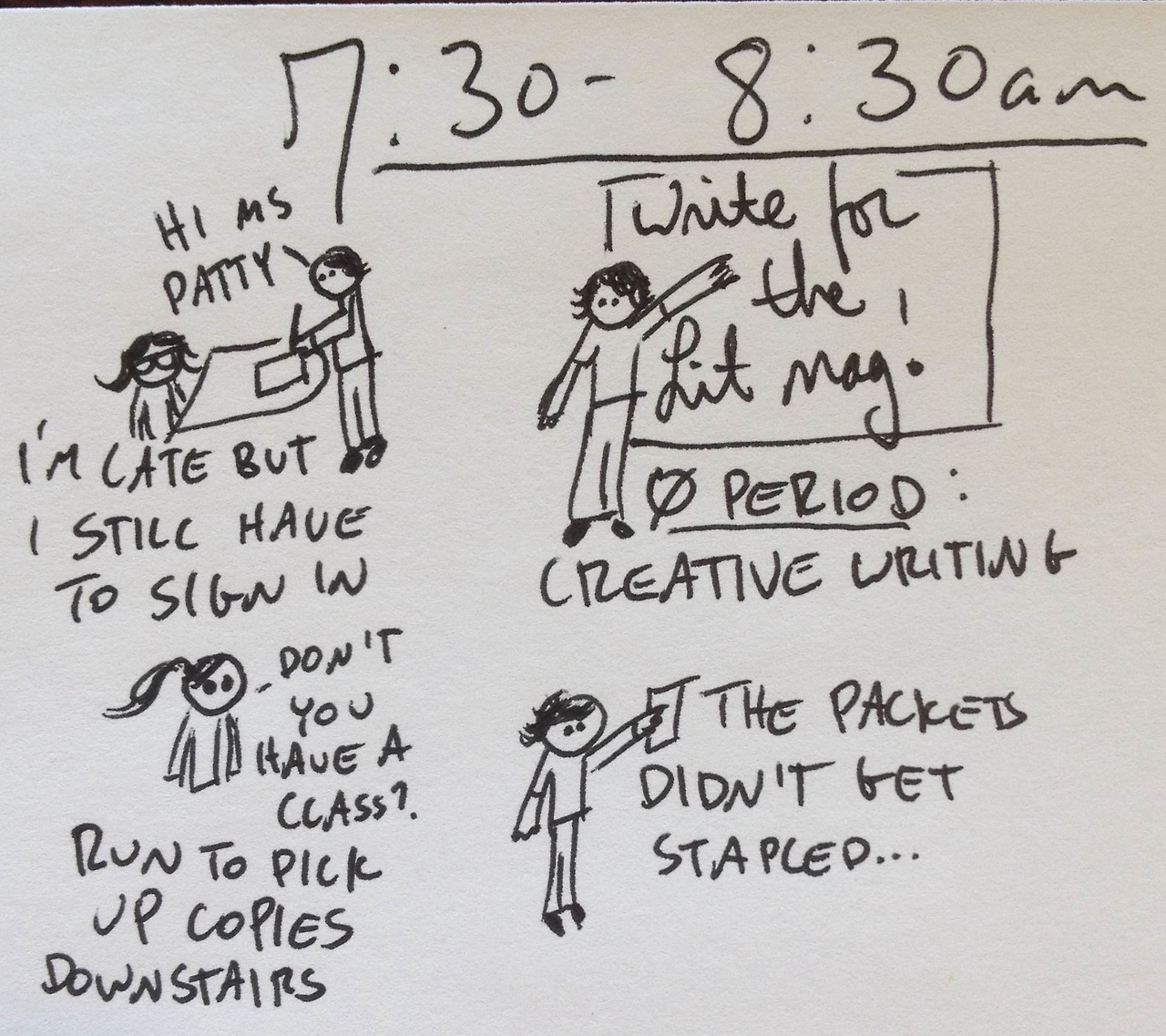 Hourly comic from yesterday: part two.