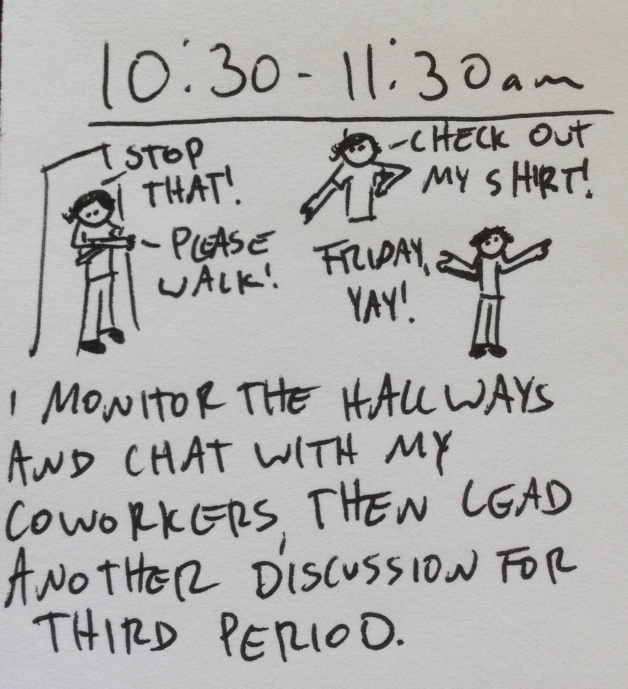 Hourly comics from yesterday, part five