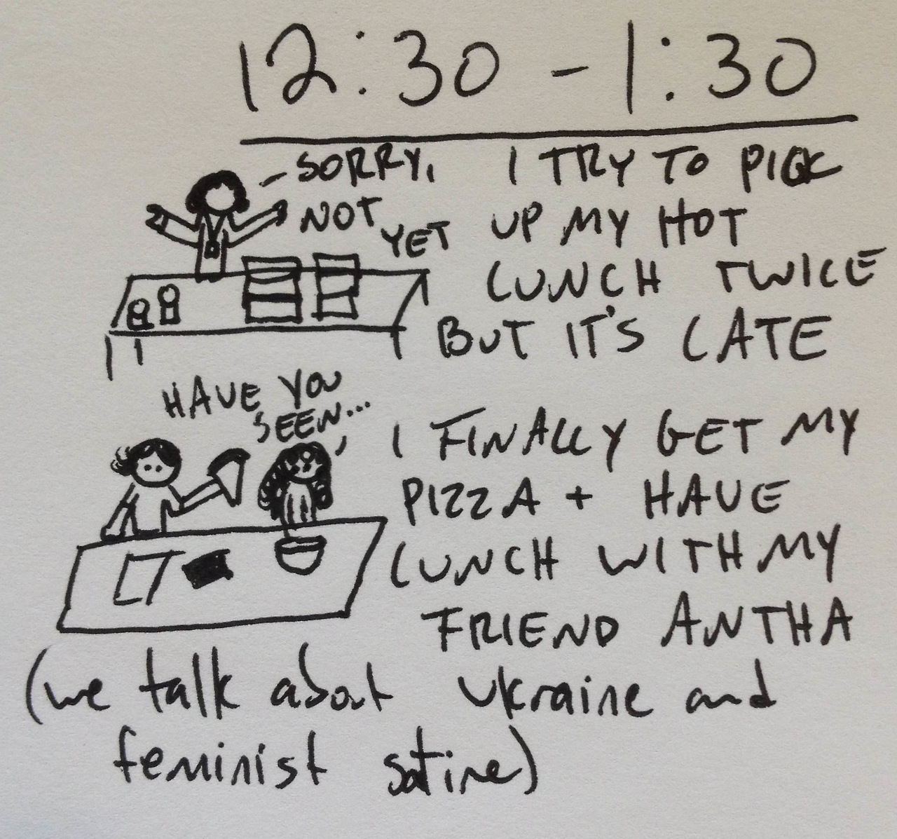Hourly comics from yesterday, part seven