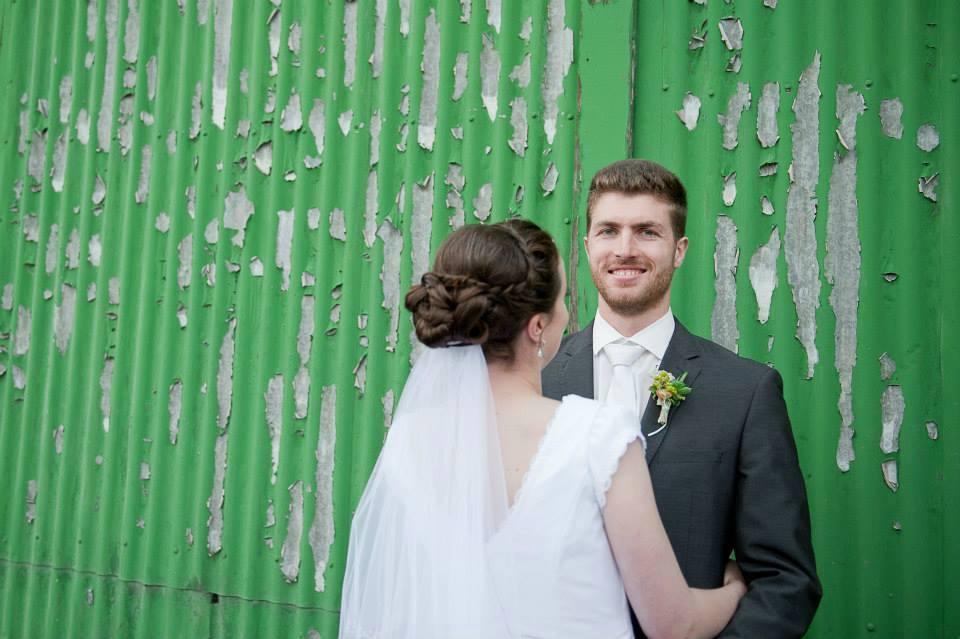 Wedding hairdressers Dunedin
