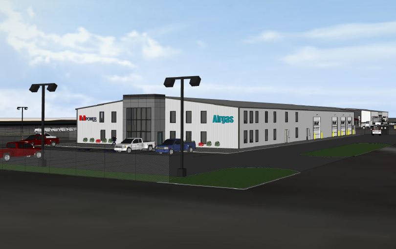 AirGas Inc. & D&D Power - 25,000 SF Build-to-Suit