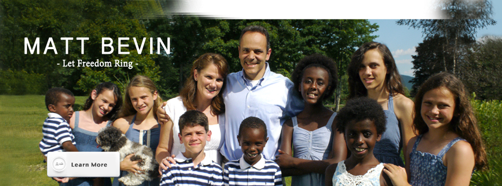Matt Bevin and Family