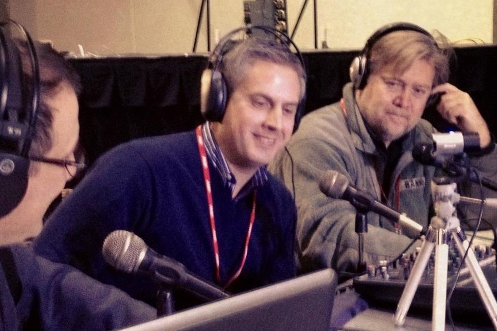 Interviewed Stephen K. Bannon on Breitbart Radio.