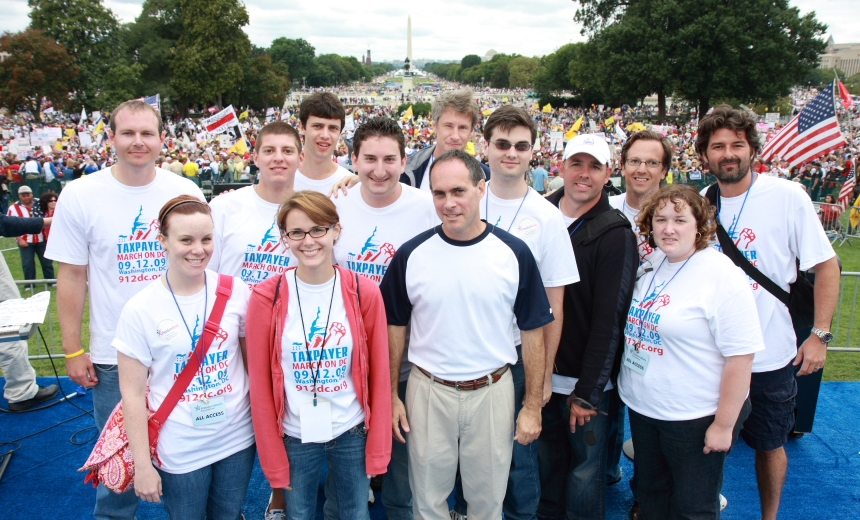 Thomas J. Gaitens at March on Washington Sept 12, 2009