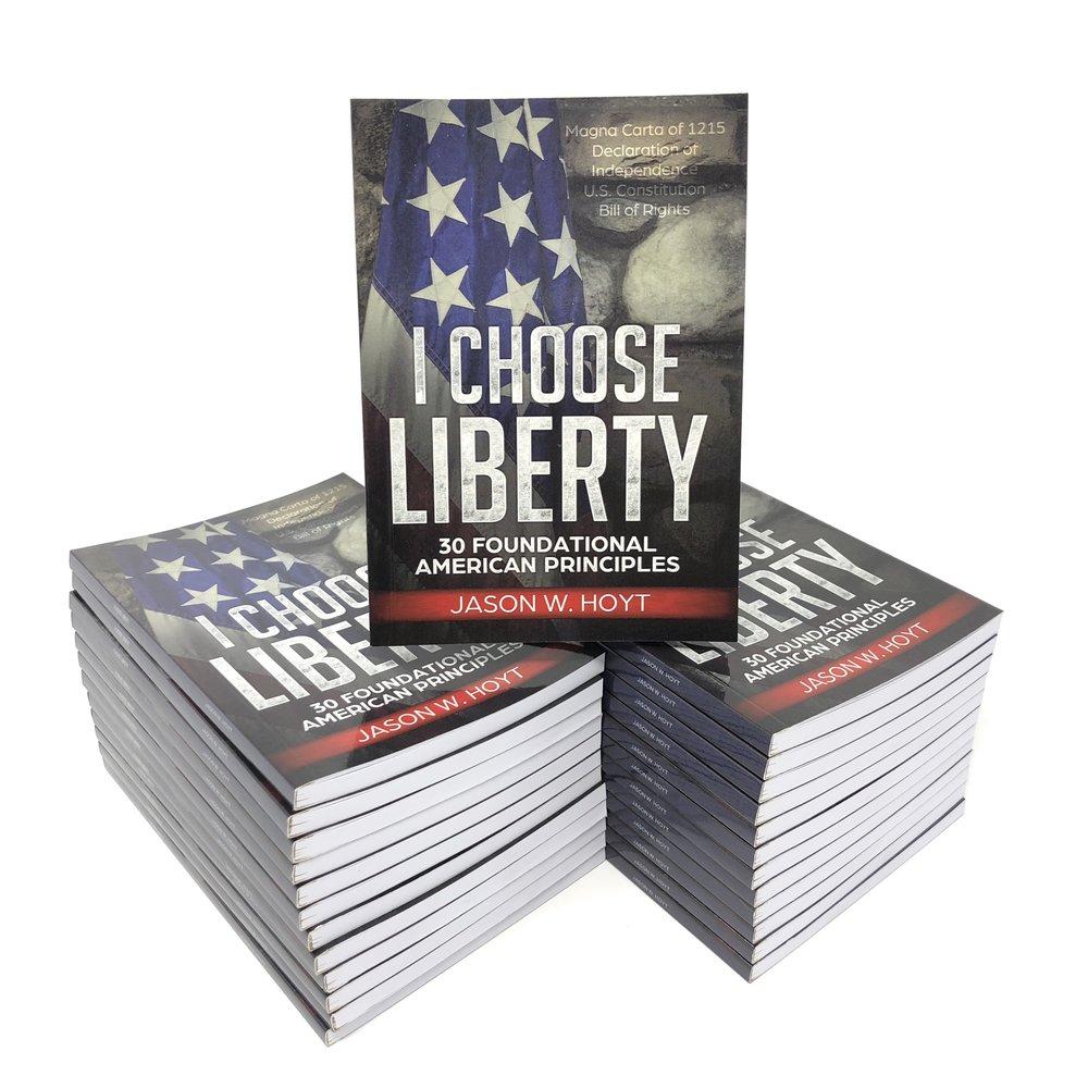 I Choose Liberty - Pocket Constitution - Jason W Hoyt - Books.JPG