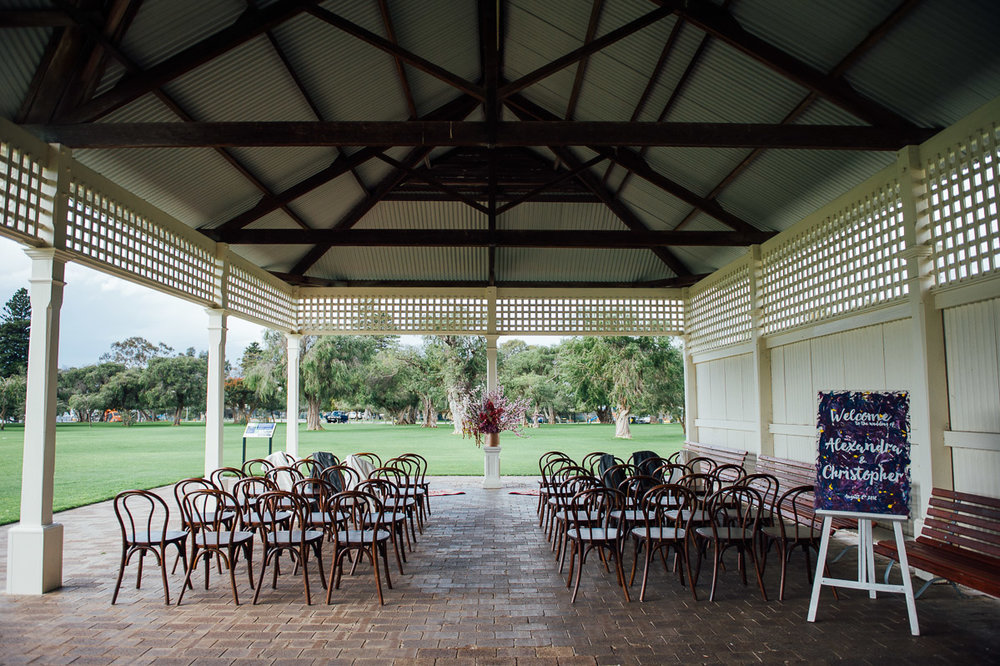 Mosman Park wedding ceremony