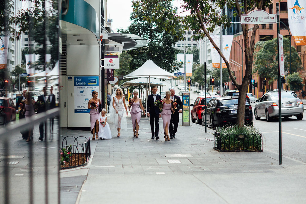 Perth wedding - St Georges Terrace