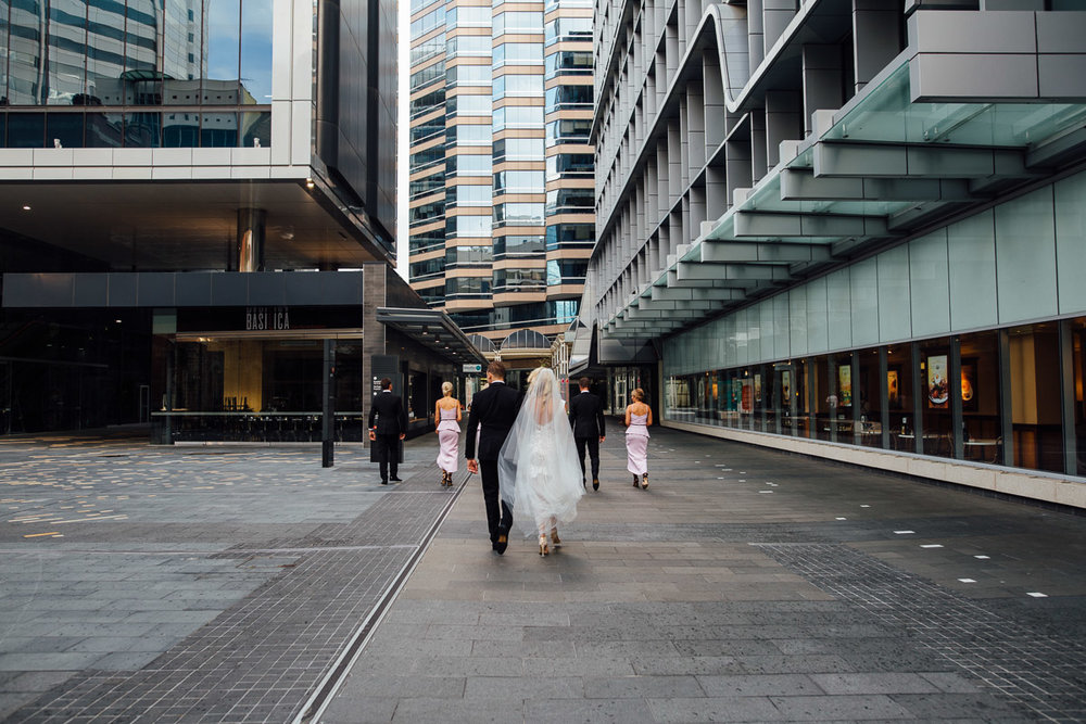Brookfield Place bridal party