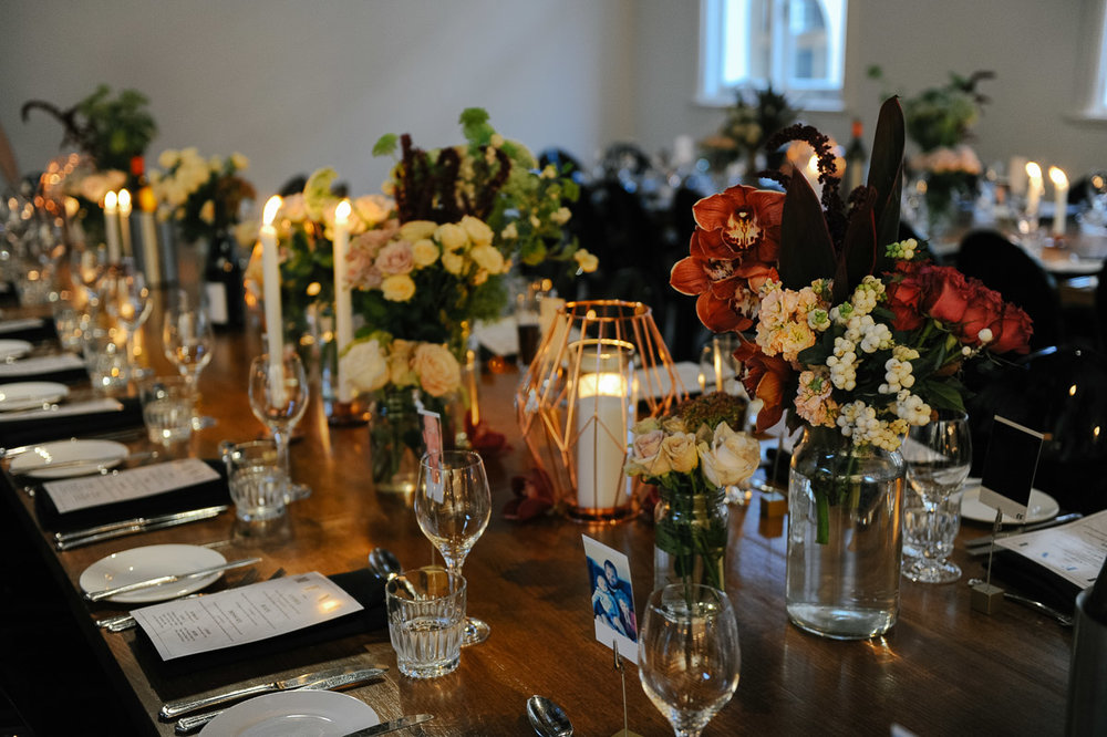 The Flour Factory wedding reception
