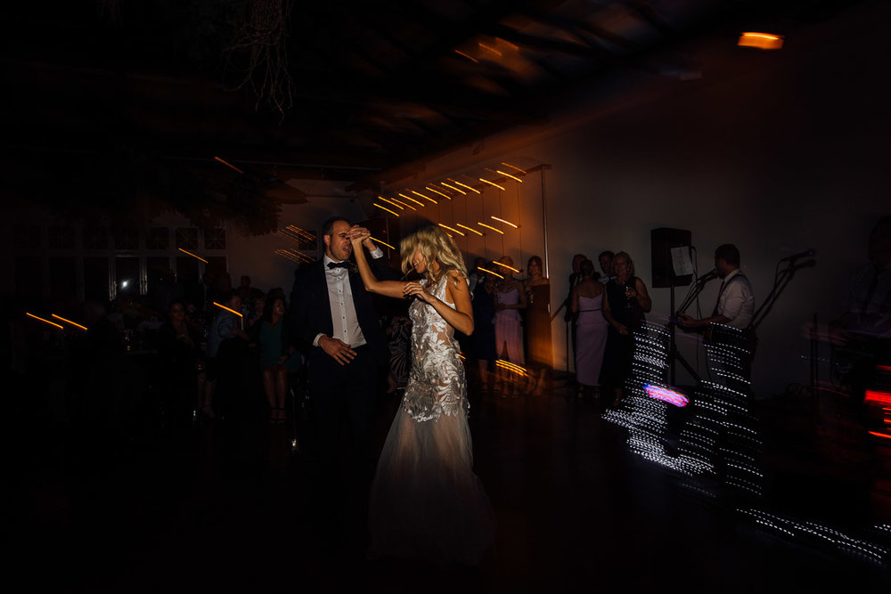 First dance-The Flour Factory-Peggy Saas wedding photographer