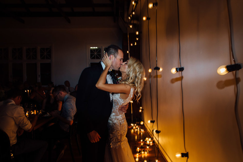 Micktric Events Lighting-The Flour Factory wedding