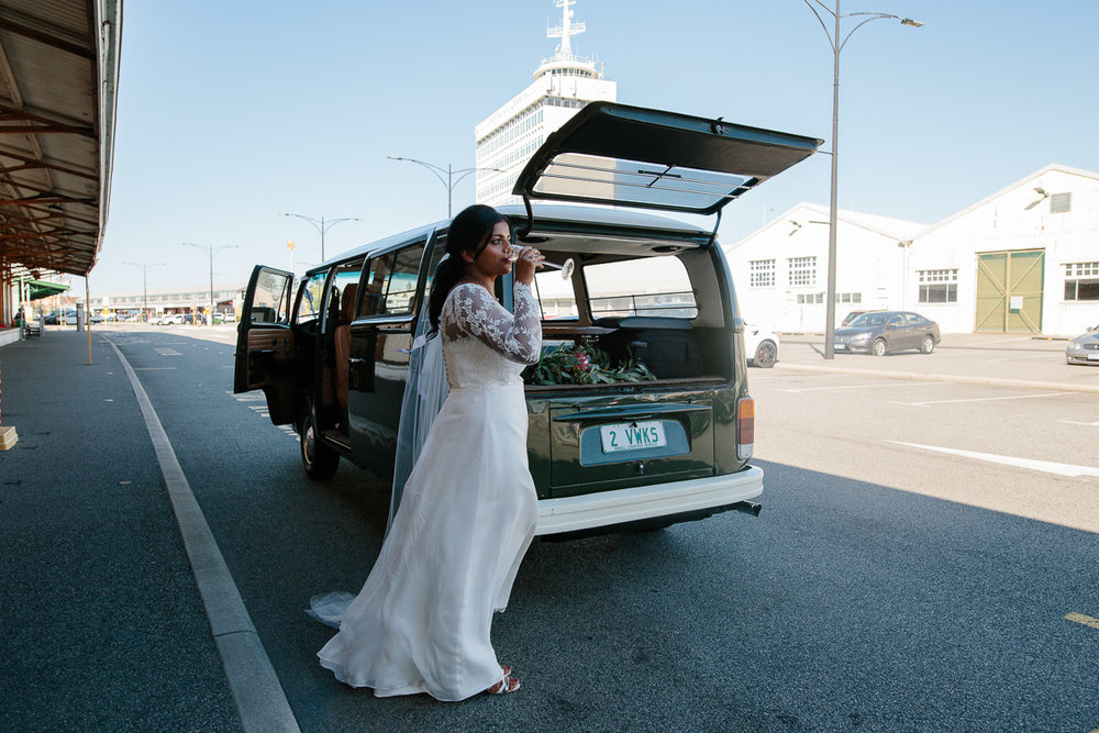 Fremantle wedding - Kidogo Arthouse