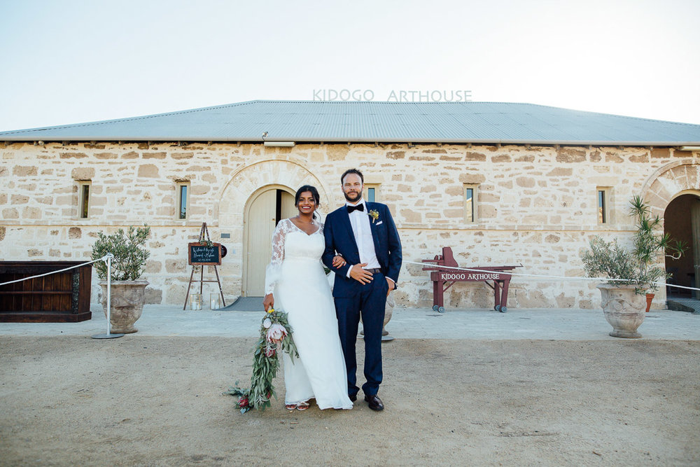 Kidogo Arthouse - Peggy Saas Fremantle wedding photographer
