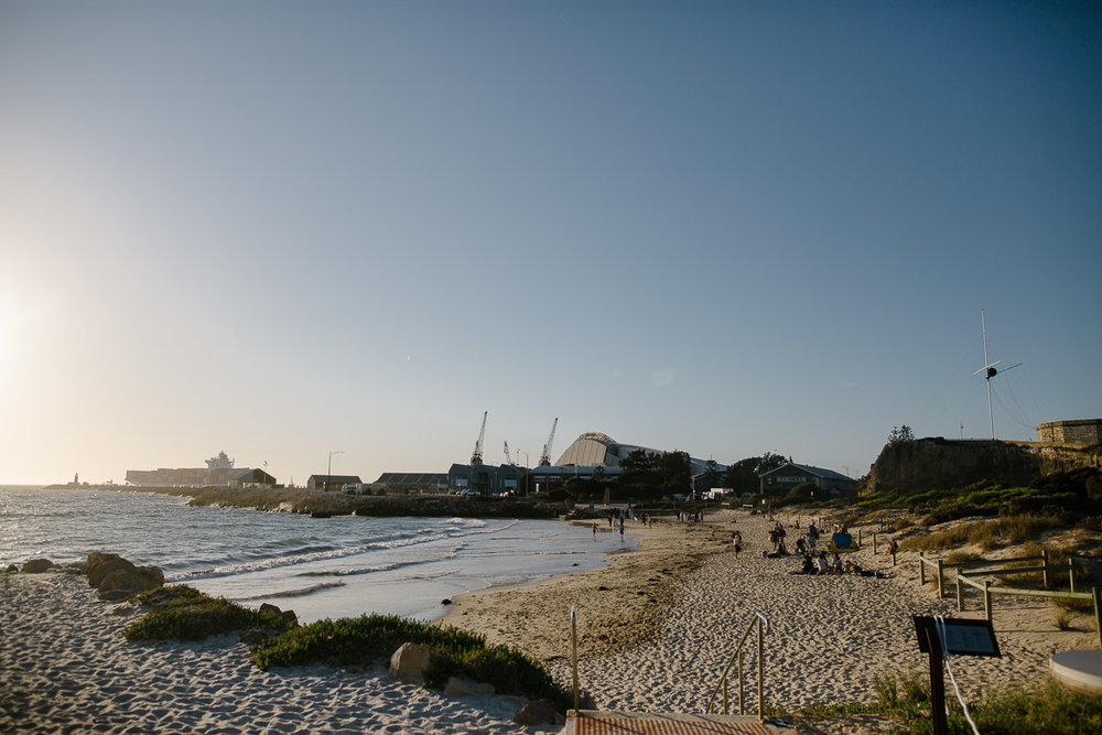 Bathers Beach-Fremantle wedding