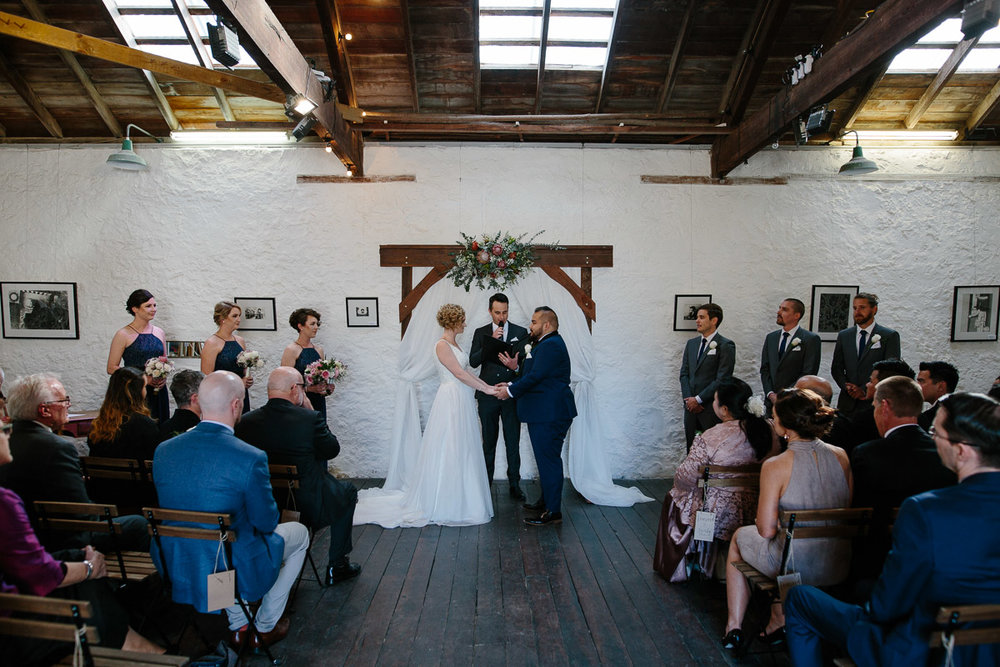 Fremantle wedding-Kidogo Arthouse
