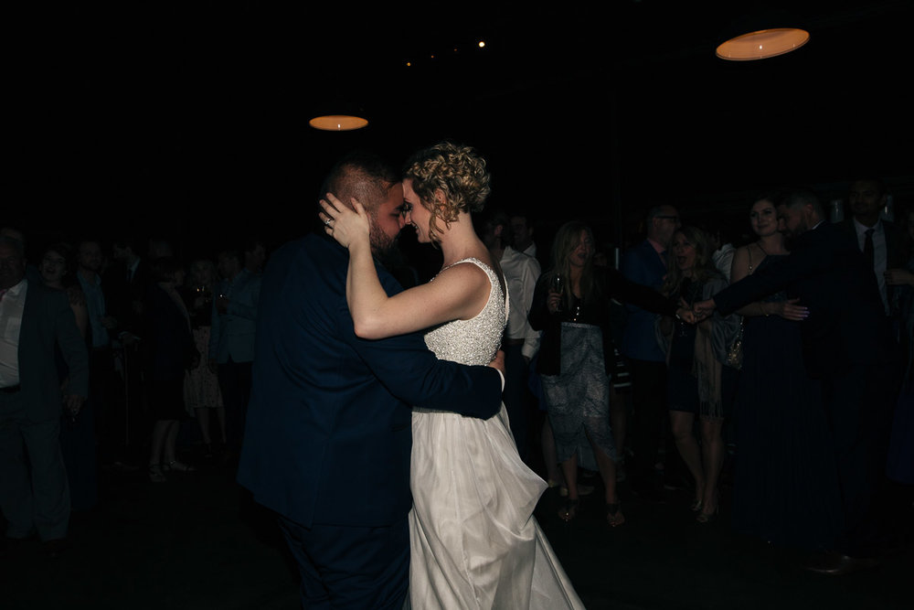 First dance-Little Creatures wedding