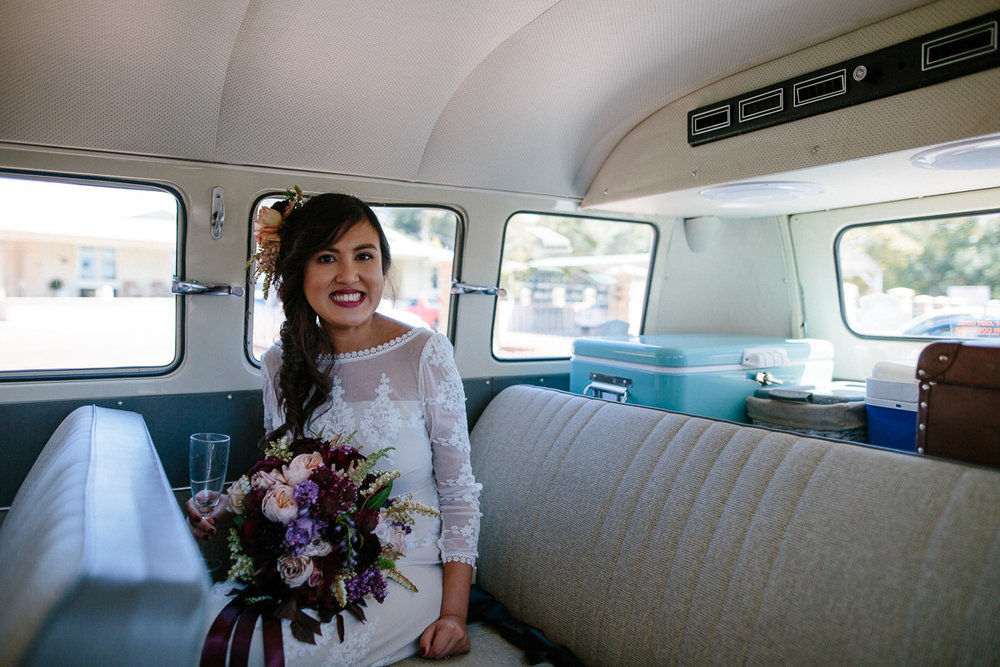 Boho Bride - Brookside wedding