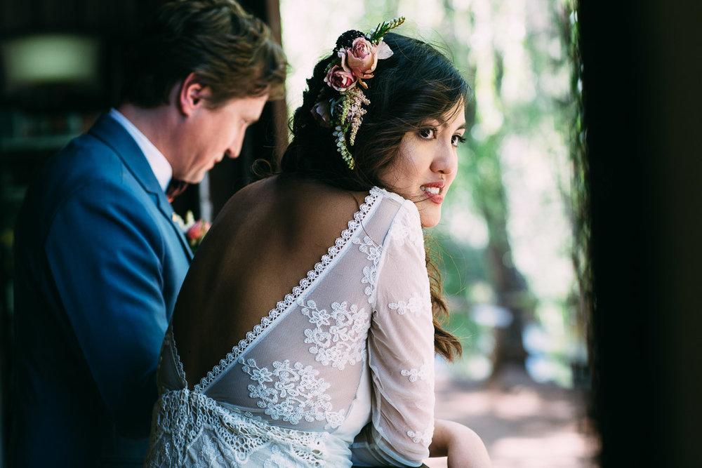 Boho bride - Brookside Vineyard