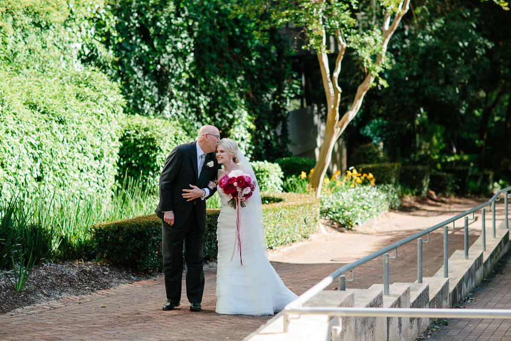 Father and Bride-Lamonts Bishops House
