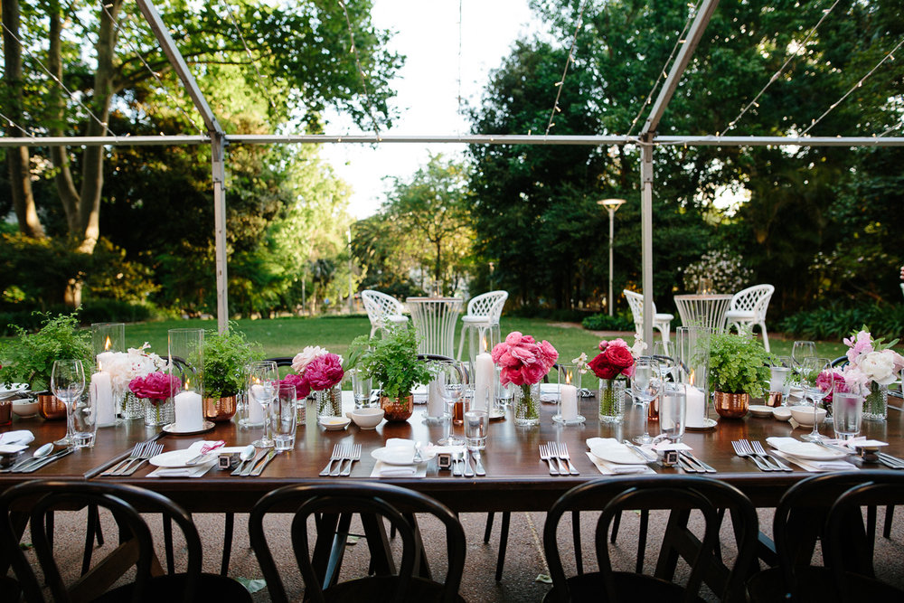 Lamonts Bishops House Wedding Reception