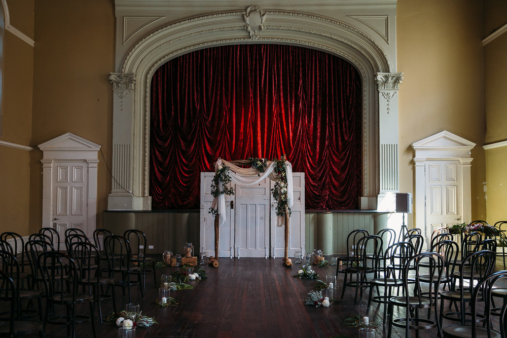 Victoria Hall Fremantle Wedding