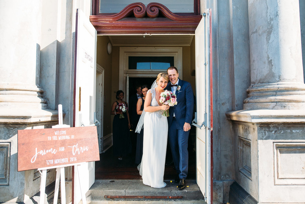 Fremantle wedding - Victoria Hall