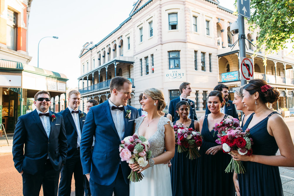Fremantle wedding - Peggy Saas