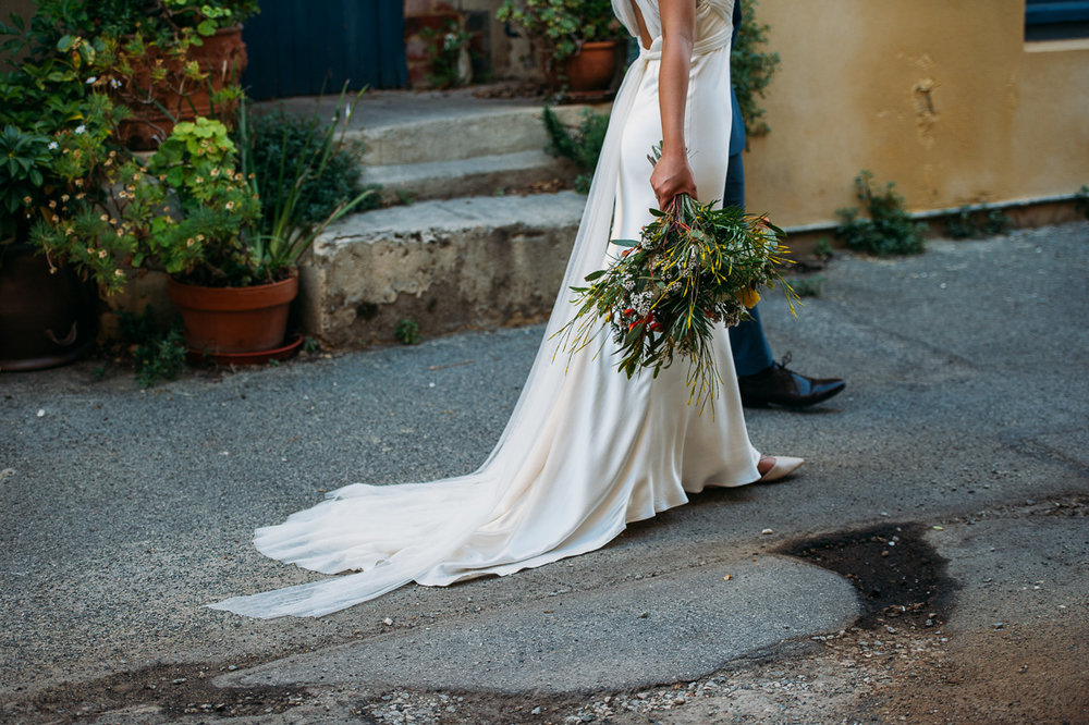 Vera Wang bride-Peggy Saas