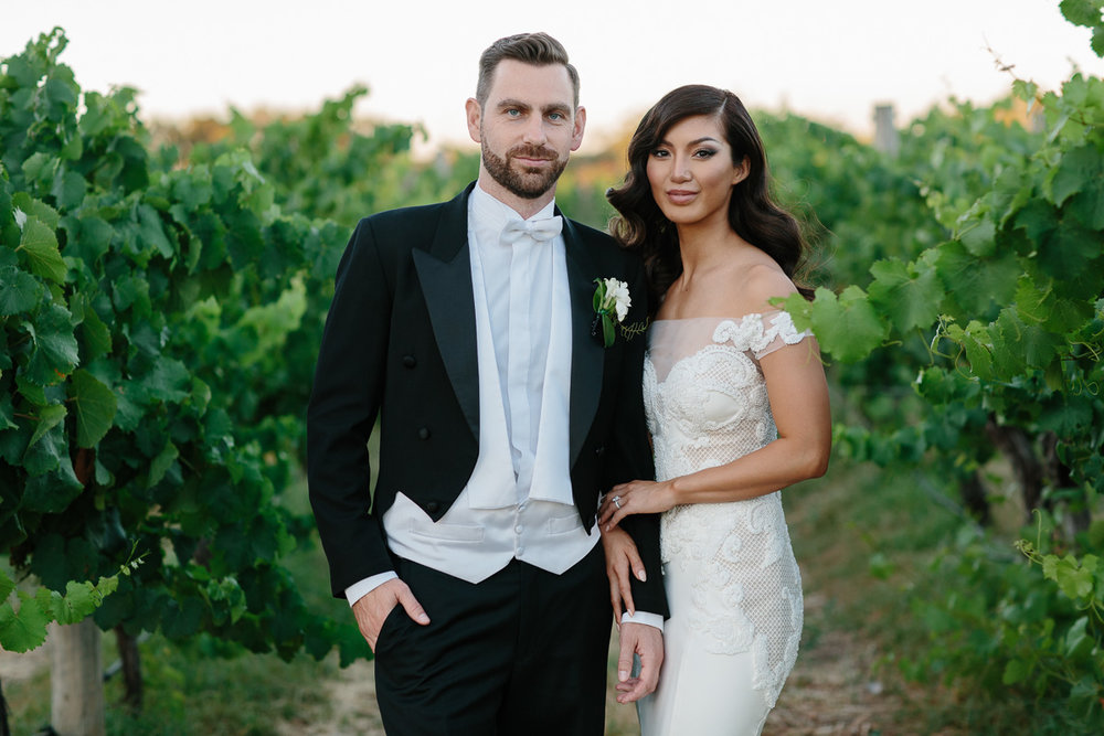 Sandalford Wines Wedding-Pallas Couture bride