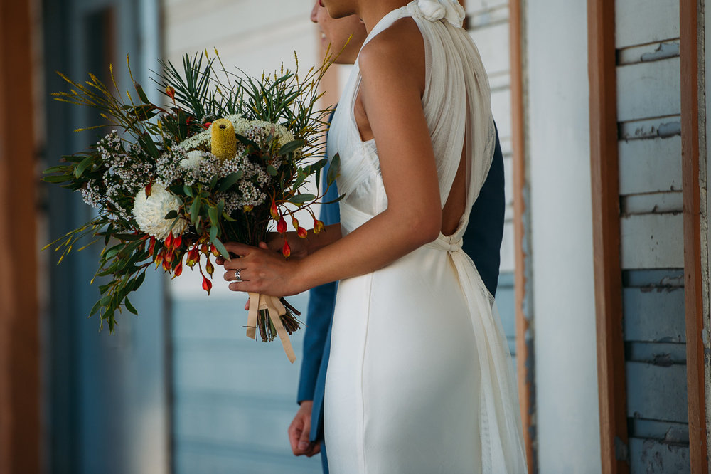 Vera Wang bride - Fremantle wedding
