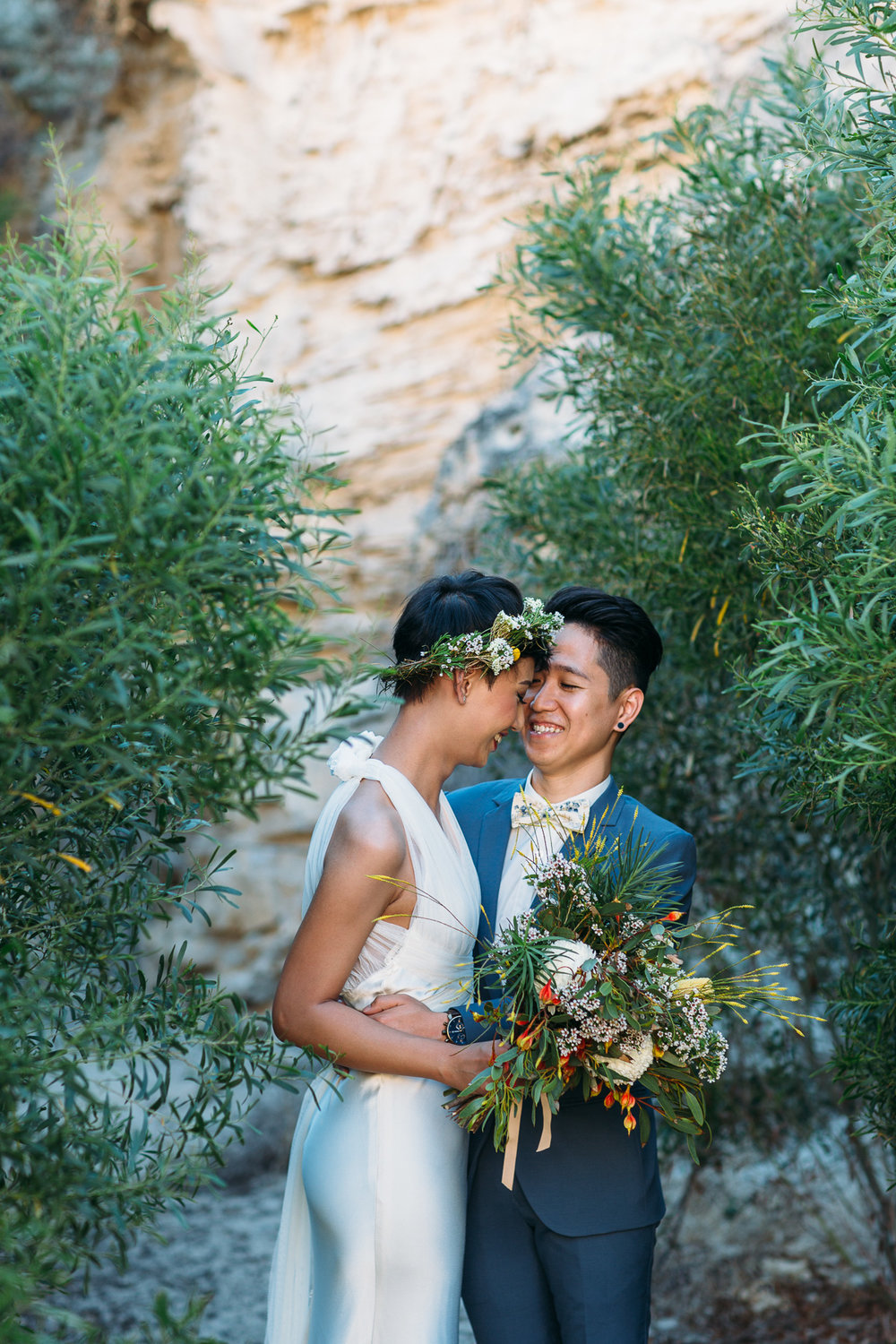 Fremantle wedding - boho bride