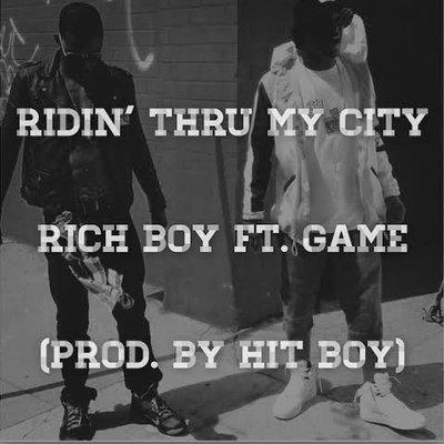 "Rich Boy x Game ""Ridin Thru My City"""