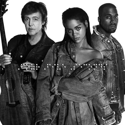 """Rihanna x Kanye West x Paul McCartney """"FourFiveSeconds"""""""